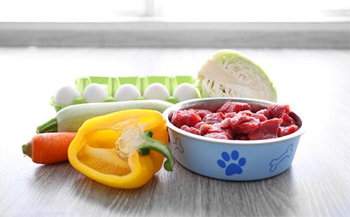 Здоровая пища для собак